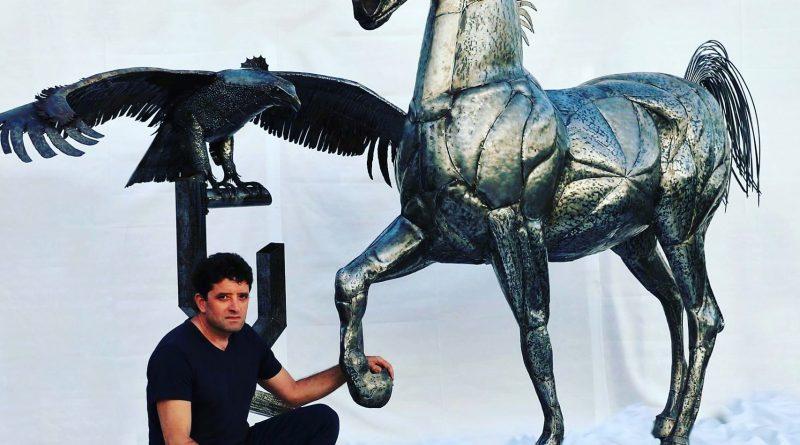 Nuccio Loreti, arte e scultura del metallo