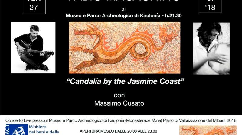 Venerdì 27 luglio Concerto Candalìaby the Jasmine Coast