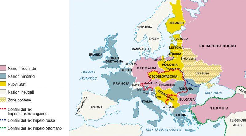 A cento anni dalla fine della Grande Guerra
