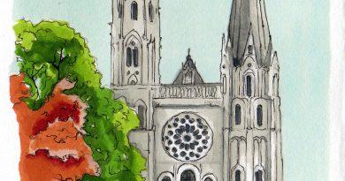 I dintorni di Parigi: la città di Chartres