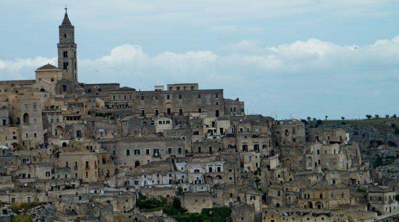 """Matera, from """"shame of Italy"""" to capital of Culture in 2019."""