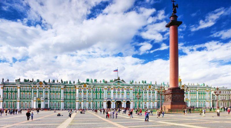 """Palazzo d'Inverno""  San Pietroburgo (Russia)"