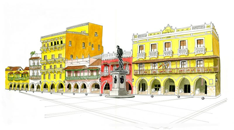 Cartagena de Indias. Another sea
