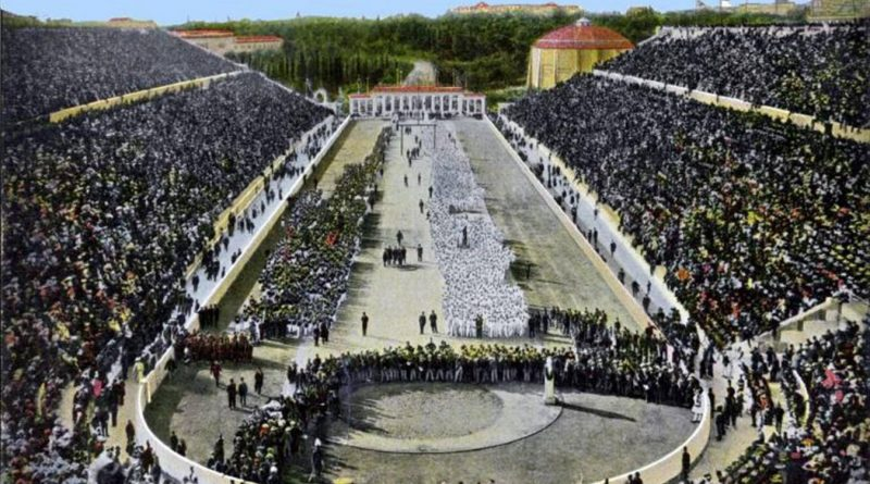 The first Olympic games of the modern era  They took place in Athens from 6 to 15 April 1896