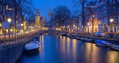 Amsterdam, acqua e colori